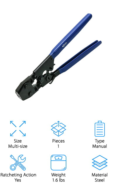 Pexflow PEX Crimp Tool