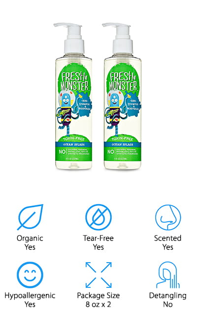Fresh Monster Kids Shampoo