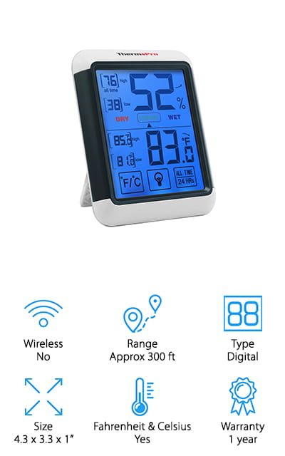 ThermoPro TP55 Hygrometer