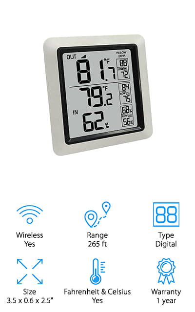 Ambient Weather Thermometer