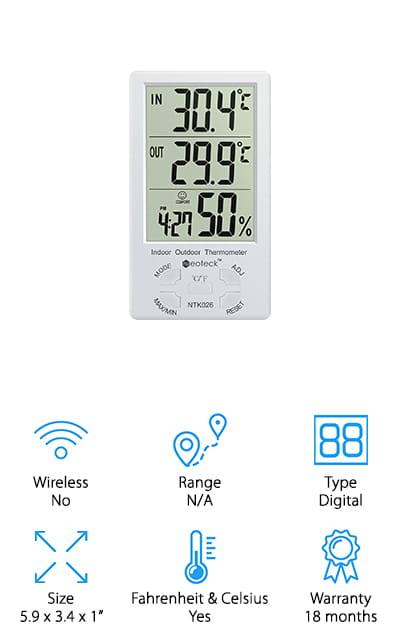 Neoteck Digital Thermometer