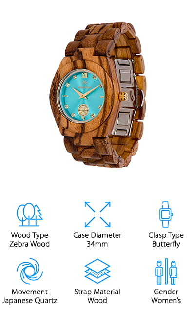 Maui Kool Wooden Watch