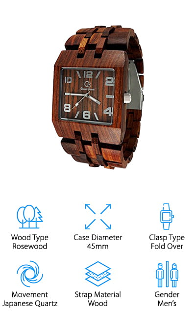 Gassen James Wood Watch