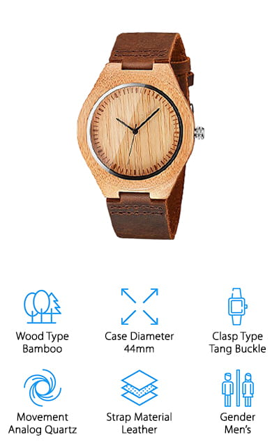 CUCOL Wooden Watch