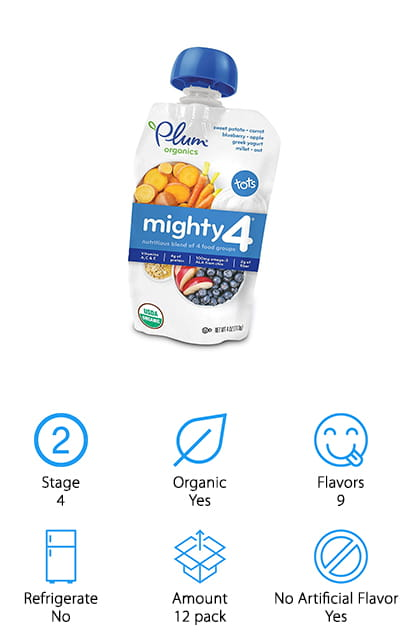 Plum Organics Mighty 4