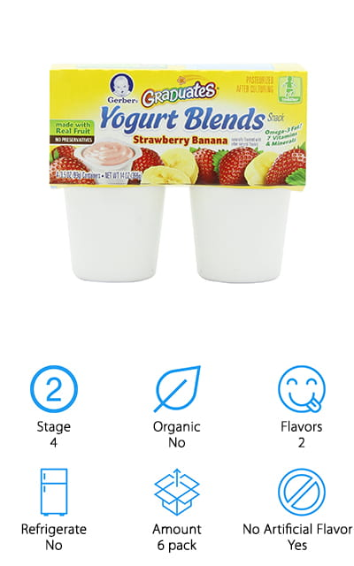 Gerber Graduates Yogurt Blends