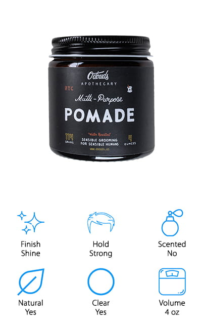 O'Douds All Natural Pomade