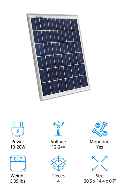 Best Solar Panels for RVs