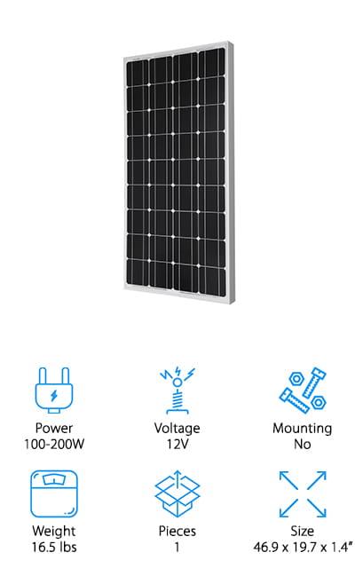 HQST Solar Panel