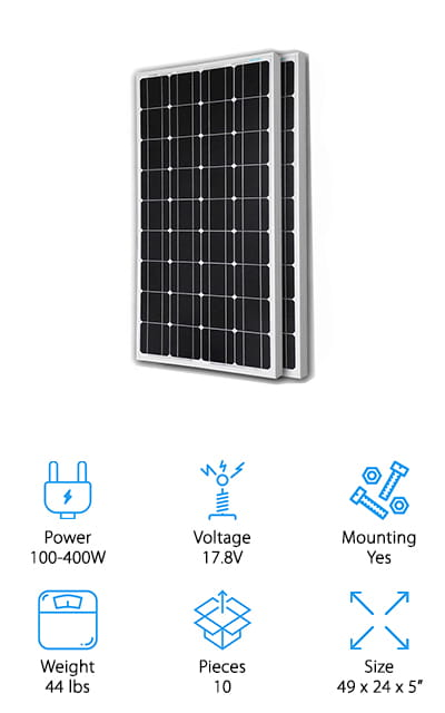 Renogy Solar RV Kit