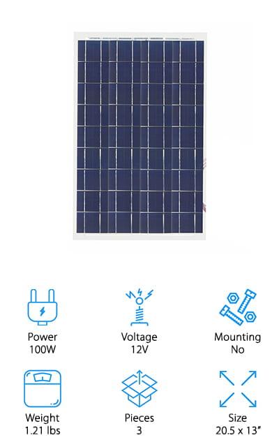 TCXW Solar Panel Kit