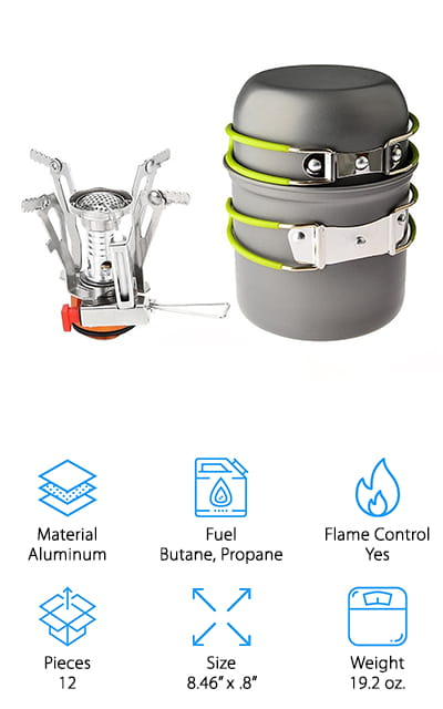 Bisgear Backpacking Stove