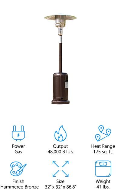 Belleze Premium Patio Heater