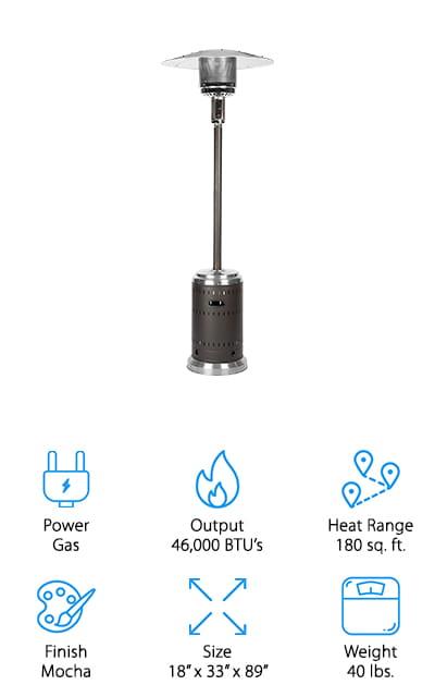 Fire Sense Commercial Heater