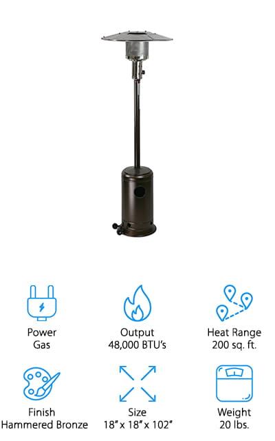 XtremepowerUS Patio Heater