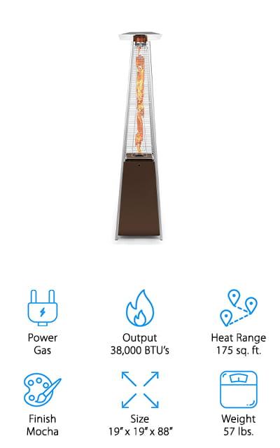 Thermo Tiki Patio Heater