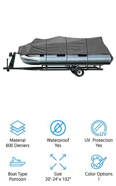 North East Harbor Pontoon Cover