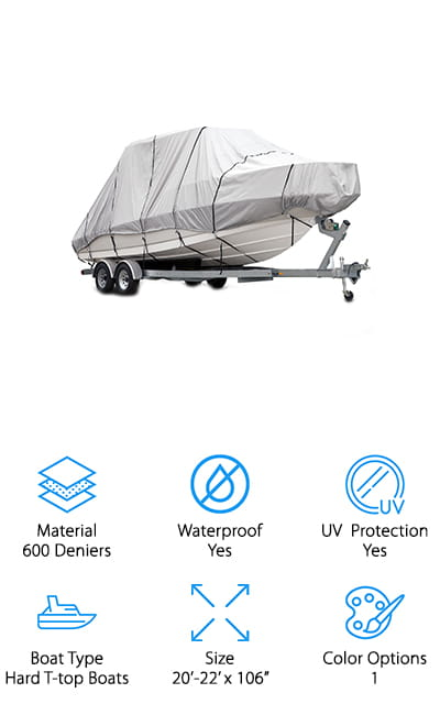 Budge T-Top Boat Cover