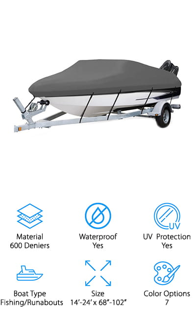 Seamander Trailerable Boat Cover