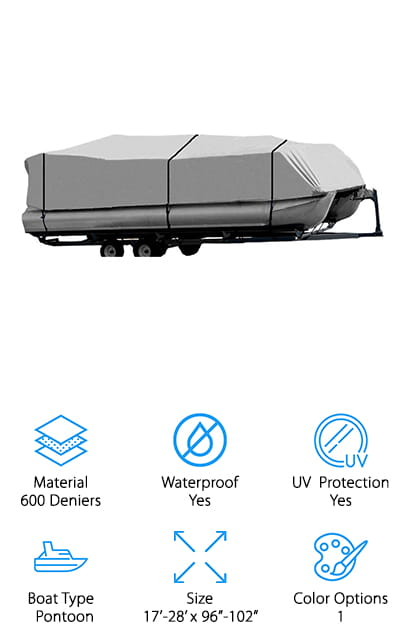 Brightent Pontoon Cover