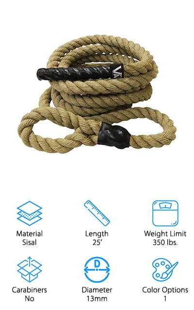 Valor Fitness Climbing Rope