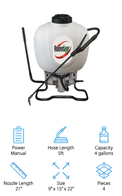 Roundup 190314 Backpack Sprayer