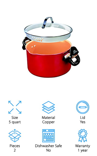 BulbHead Pasta Pot