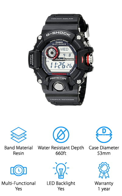 Casio GW-9400-1CR Watch
