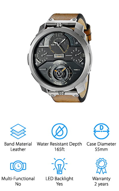 Diesel Men's Machinus Watch