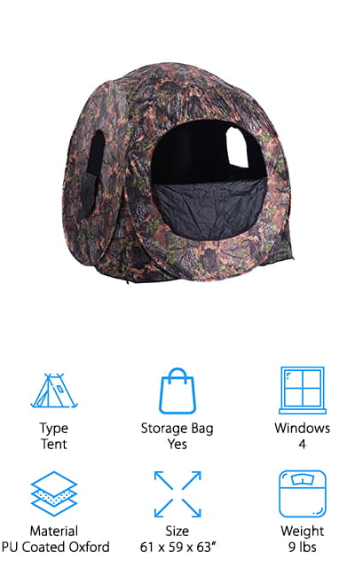 Tangkula Portable Hunting Blind