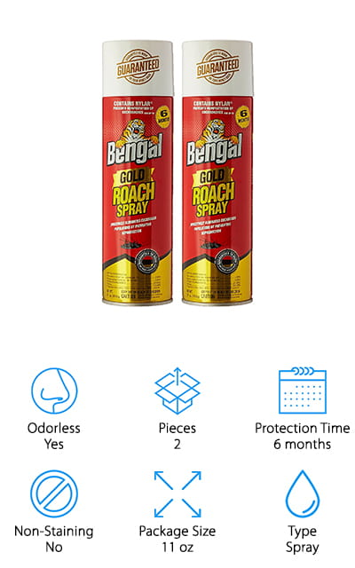 Bengal Chemical Inc Roach Spray