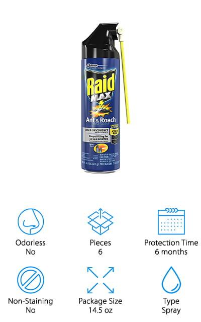 Raid Max Roach Spray