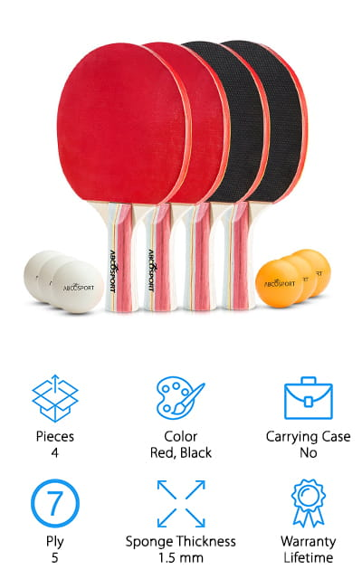 Abco Tech Ping Pong Set
