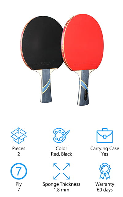 MAPOL 4 Star Ping Pong Paddle