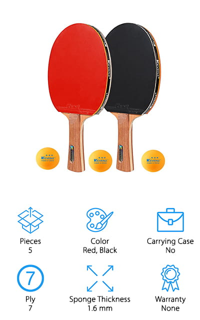 KEVENZ Table Tennis Racket