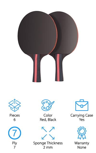 Jebor Ping Pong Paddle