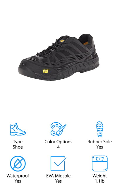Caterpillar Comp Toe Shoe