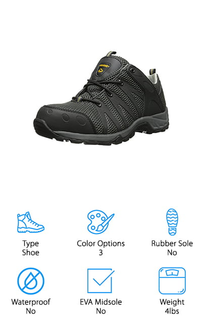 Wolverine Safety-Toe Shoe