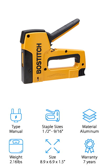 BOSTITCH Powercrown Stapler