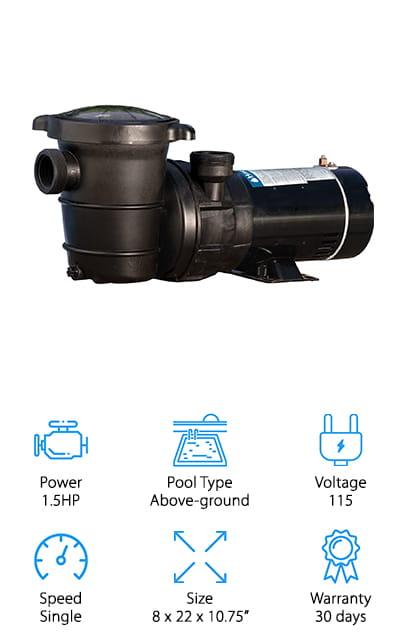Harris ProForce Pool Pump
