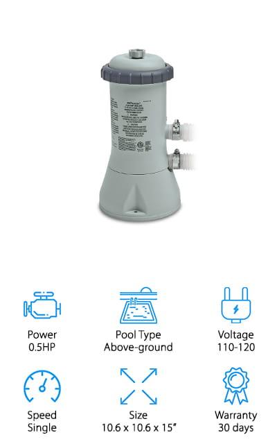 Intex Krystal Clear Pump