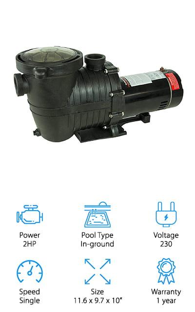 Mighty Niagara Pool Pump