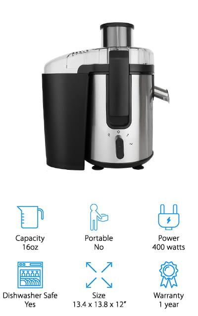 BuySevenSide Juicer Blender