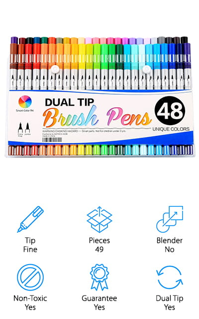 Smart Color Art Brush Pens