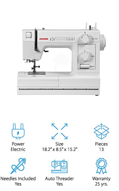 Janome HD1000 Machine