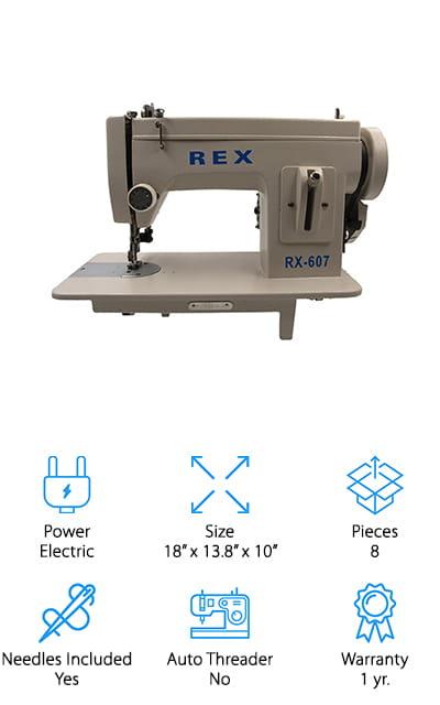 Rex Portable Sewing Machine