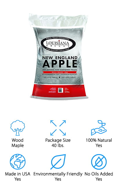Louisiana Grills Apple Pellets