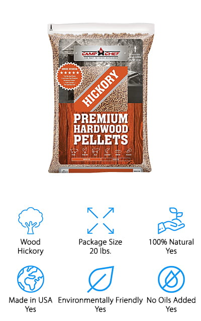 Camp Chef Hardwood Pellets
