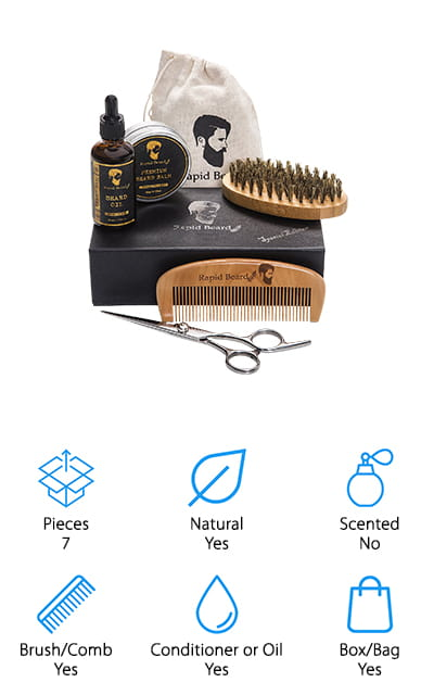 Rapid Beard Grooming Kit