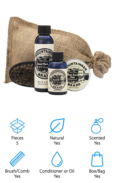Mountaineer Brand Beard Kit